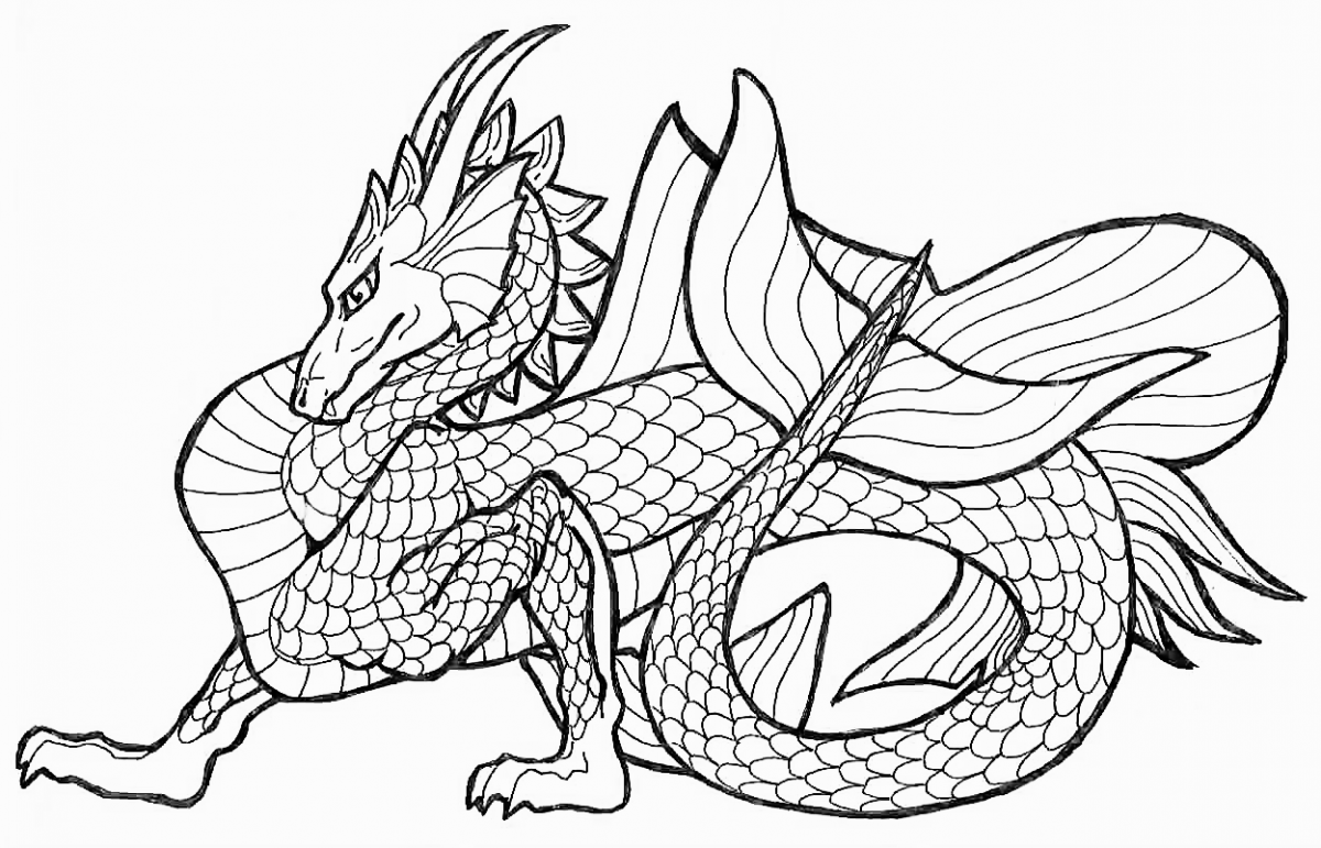 New Ninjago Dragons Coloring Pages For Kids April 2014
