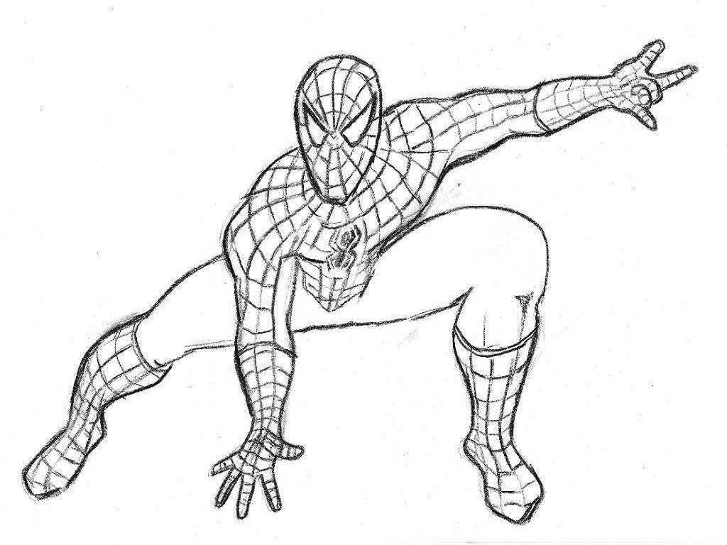 New Spiderman Coloring Pages Awesome Design Id  765