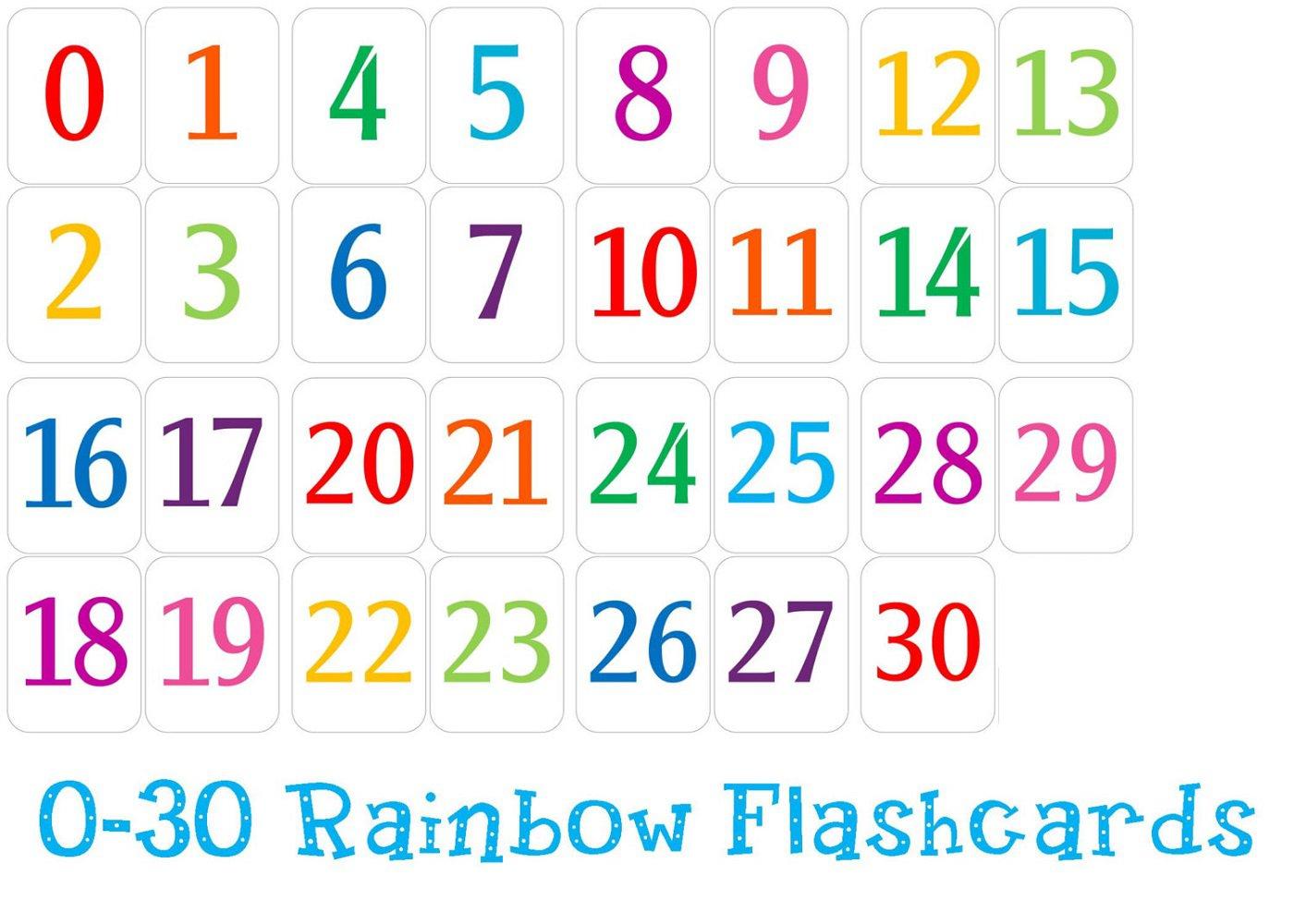 Free Printable Number Chart 1