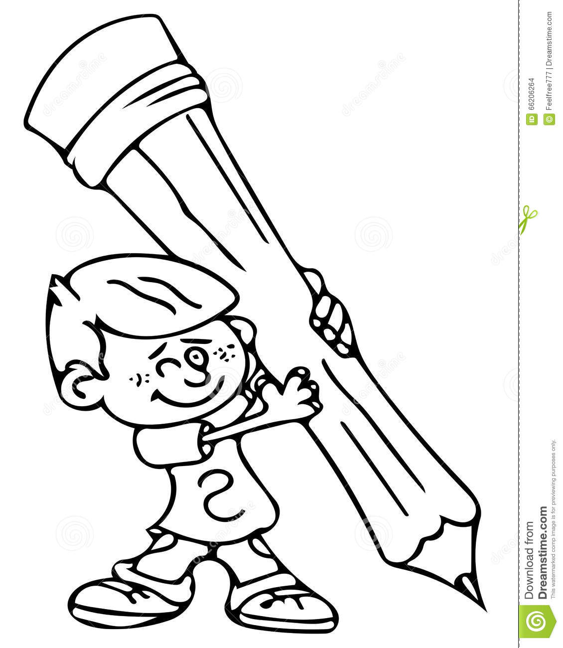 Downloads Online Coloring Page Coloring Picture Of A Pencil 44