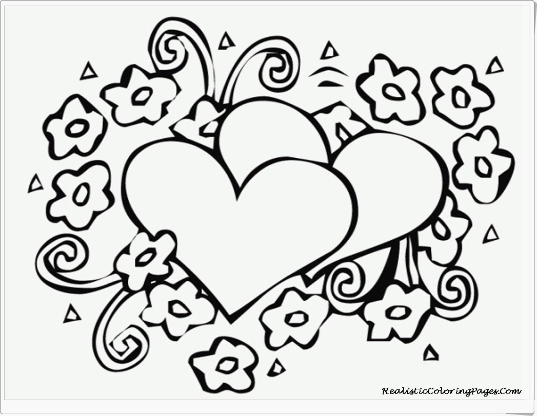 Valentine S Day Coloring Pages Valentines With Free