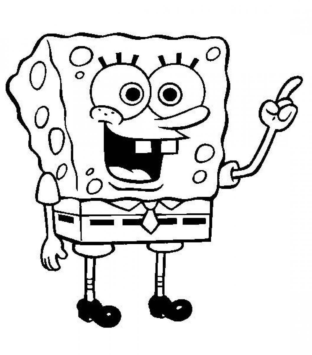 Online Spongebob Squarepants Coloring Page 34 On Seasonal