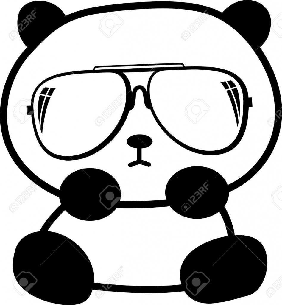 Panda Drawing Easy Cute Panda Drawings