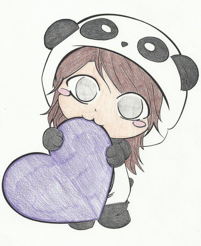 Panda Love By Sue