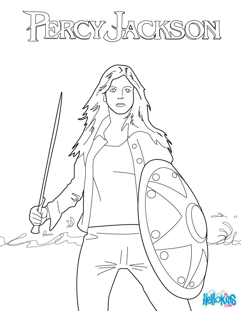 Percy Jackson Coloring Pages