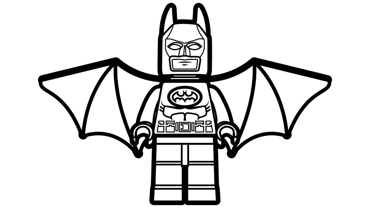 Perfect Lego Batman Coloring Pages 30 In Free Colouring Pages With