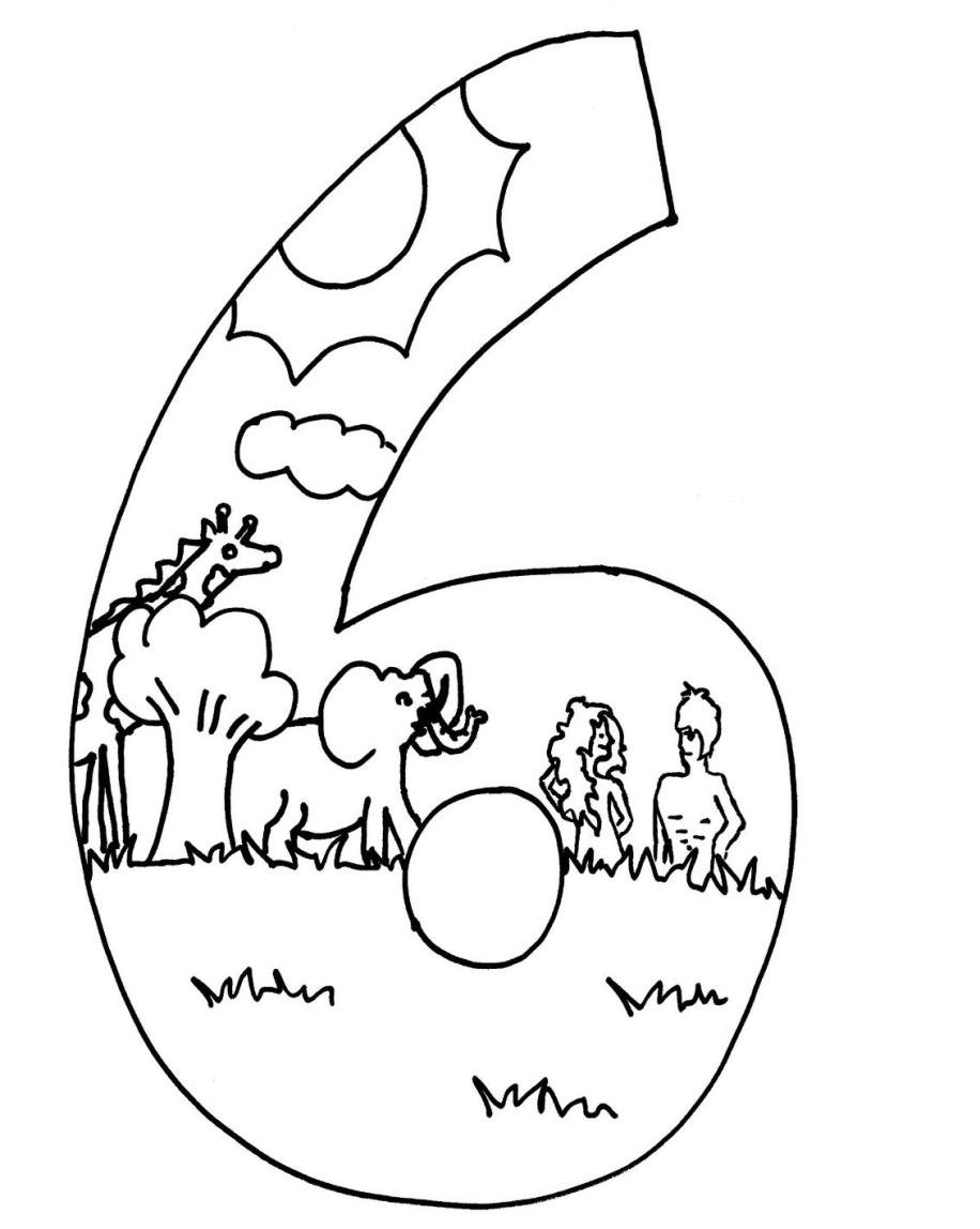 Pictures 7 Days Of Creation Coloring Pages 55 For Gallery Coloring