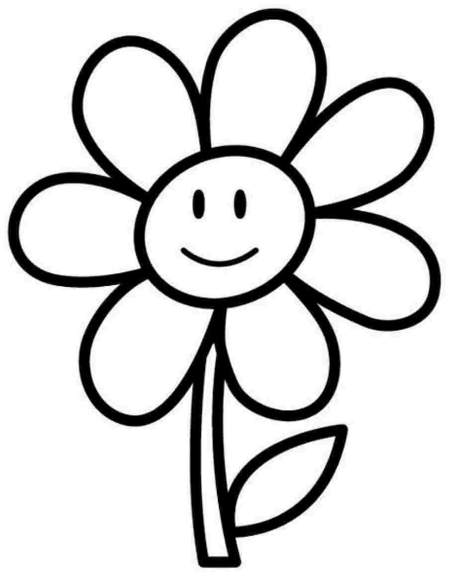Pictures Flower Coloring Page 18 On Sheets With Flower Coloring