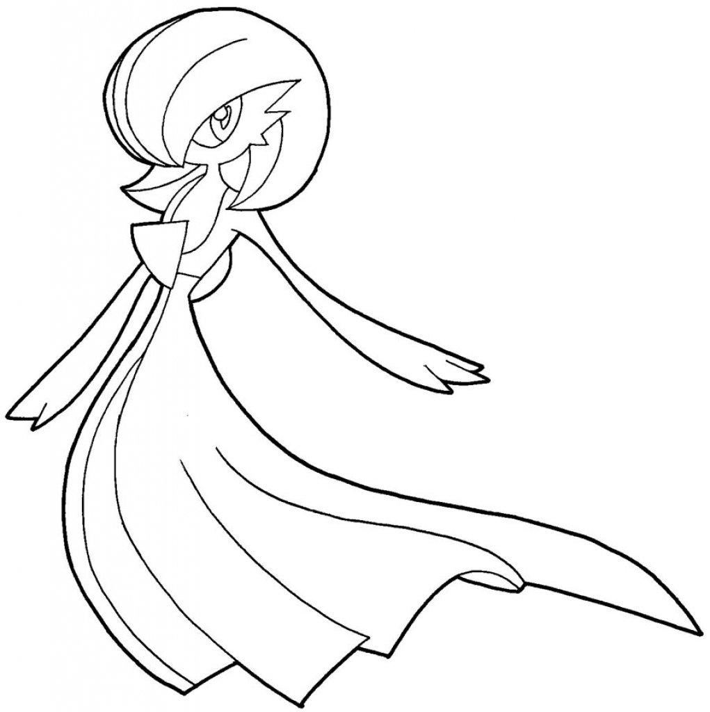 Pokemon Easy To Draw How To Draw Gardevoir From Pokemon With Easy