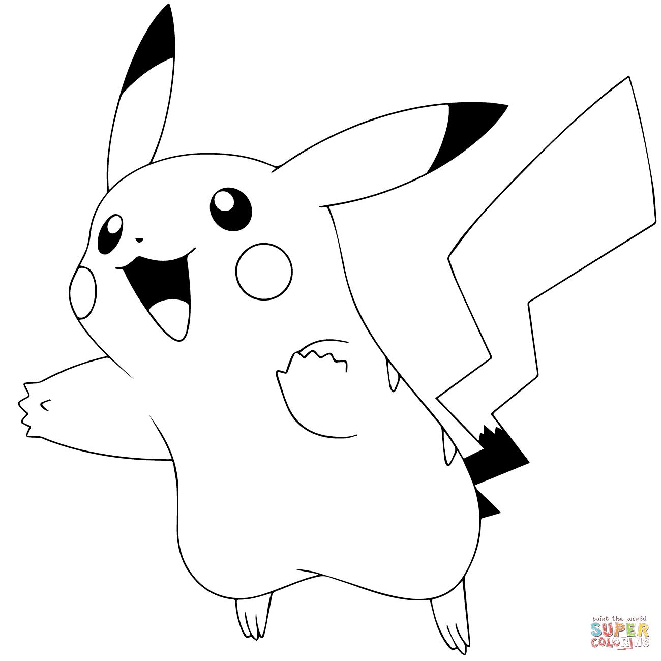 Pokémon Go Coloring Pages