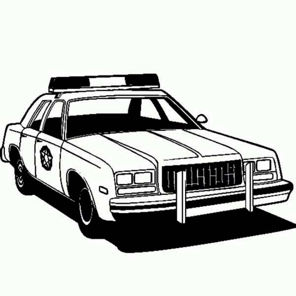 Get This Police Car Coloring Pages Free Printable 56449 !