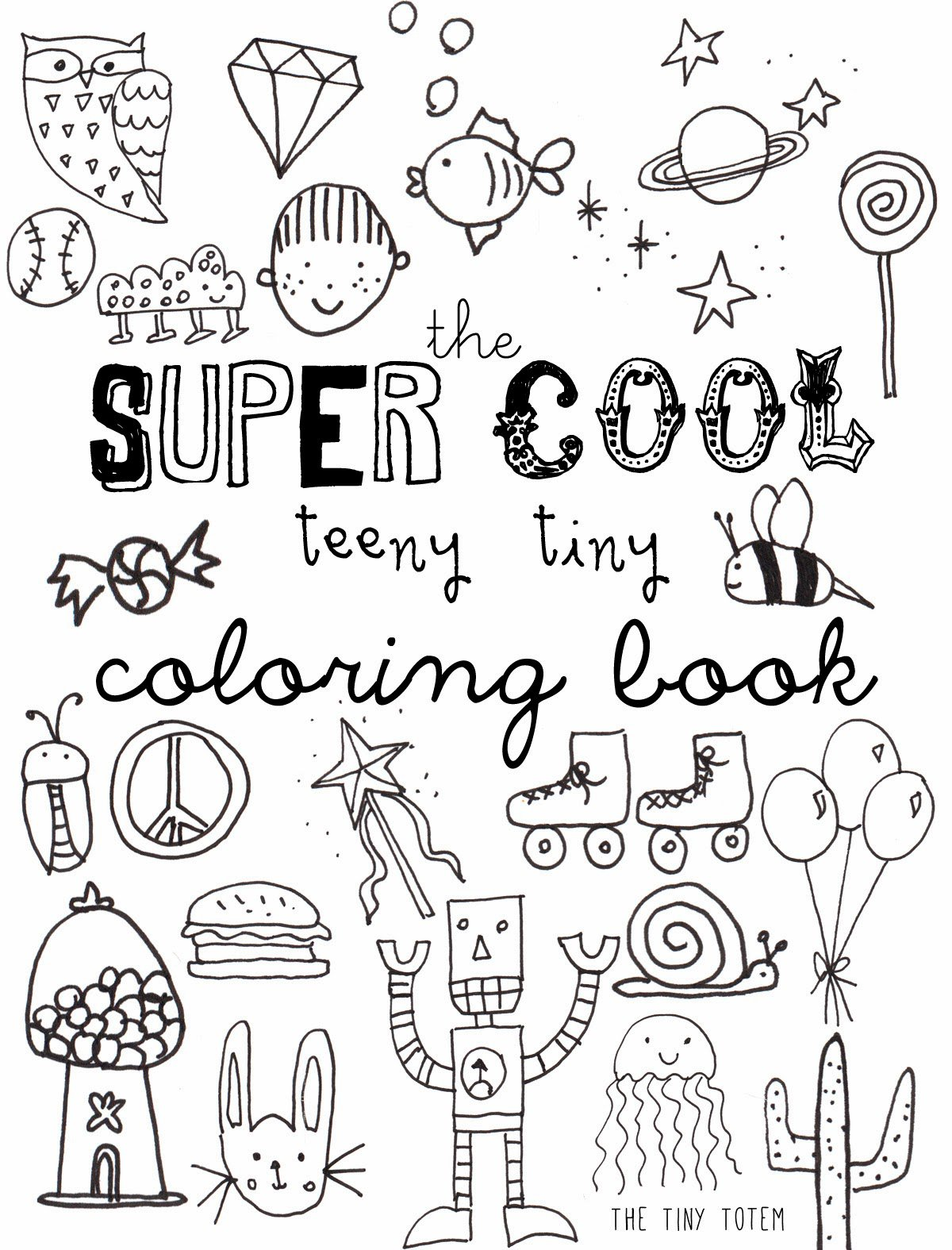 Free Printable Mini Coloring Books At Coloring Book Online