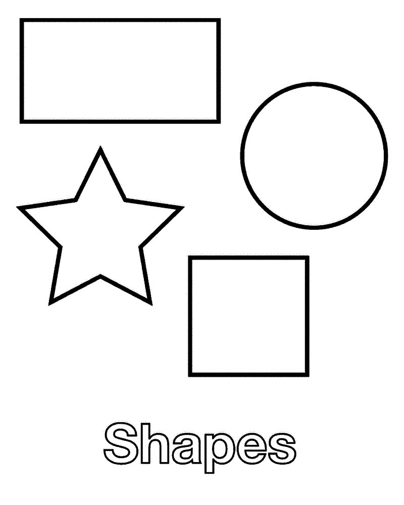 Printable Shapes Coloring Pages 27730,