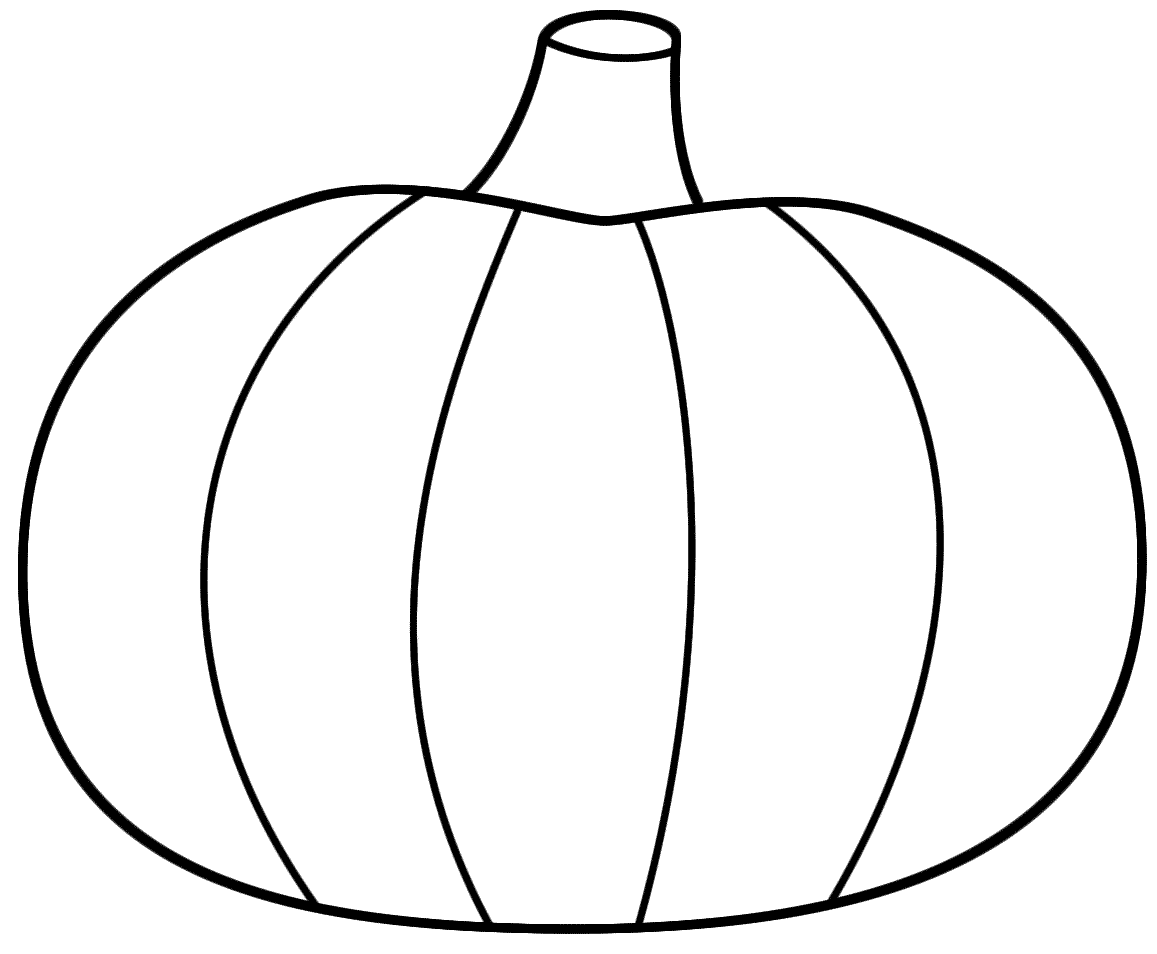Best Pumpkin Outline Printable  22943