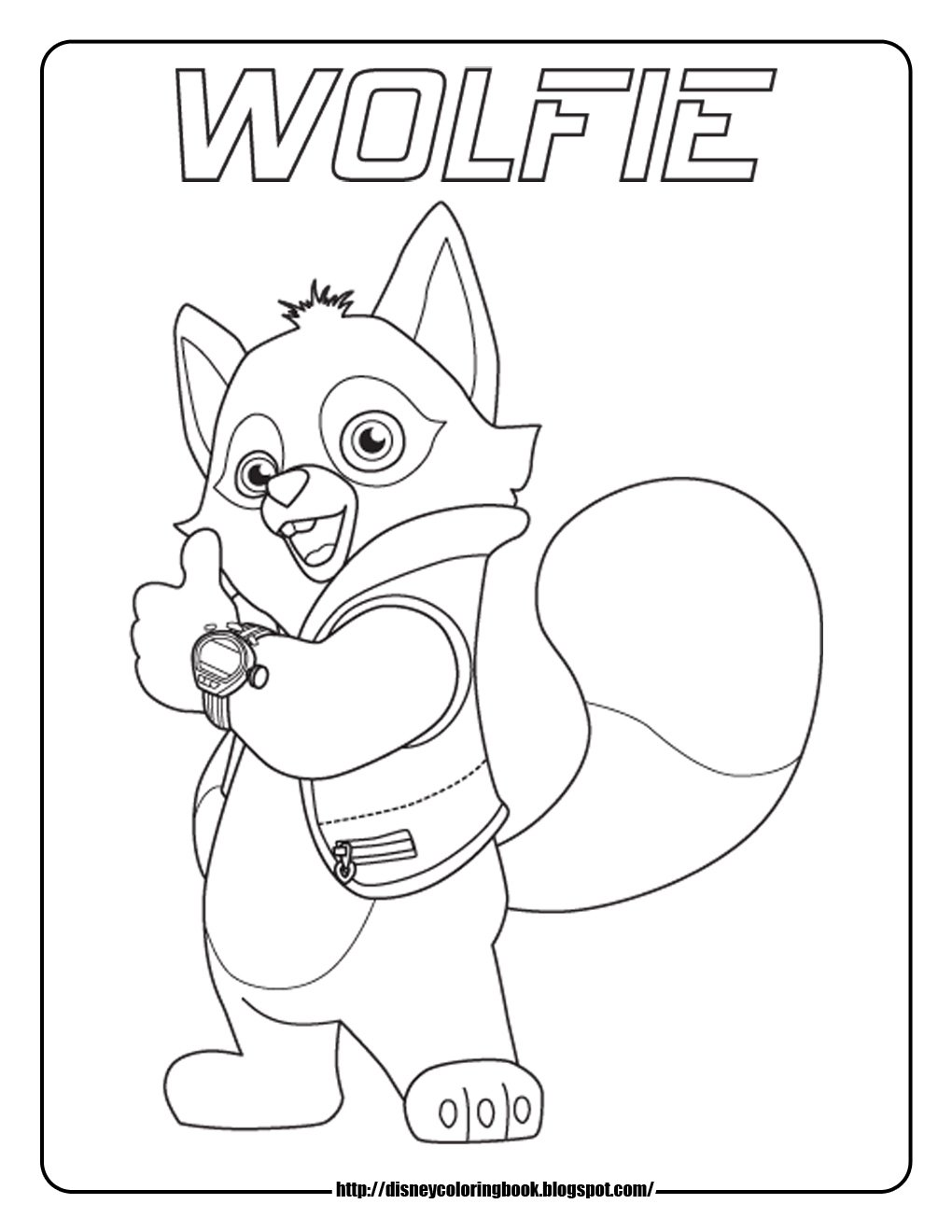 Special Agent Oso 1  Free Disney Coloring Sheets