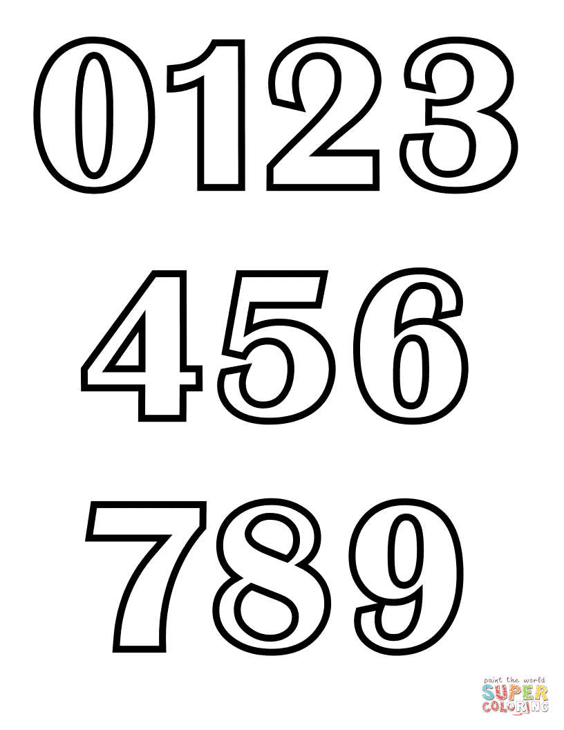 Sheets Coloring Pages Of Numbers 48 For To Print With Coloring
