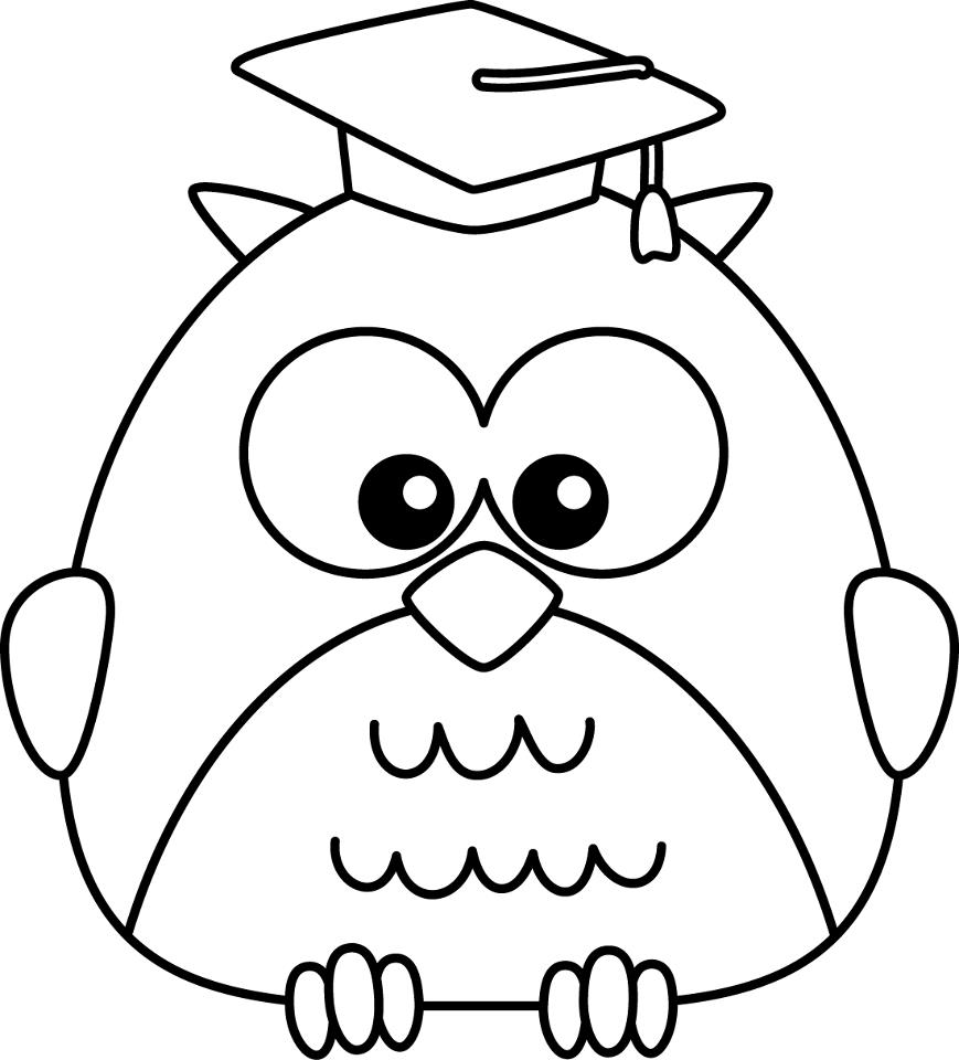 Sheets Graduation Coloring Pages 67 In Coloring For Kids With