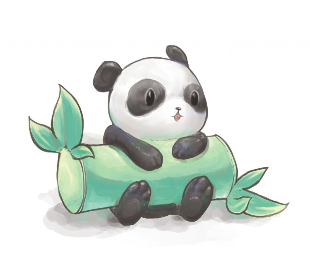 Simple Panda Drawing 1000 Images About Cute Drawings On Neo Coloring