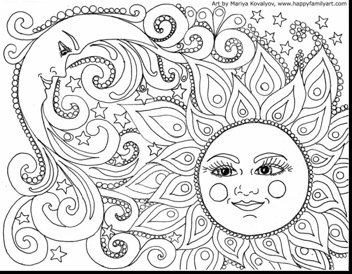 Good Printable Abstract Adult Coloring Pages With Adult Coloring