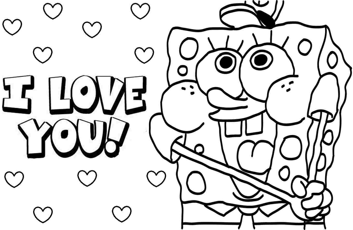 Spongebob Coloring Pages Printable Spongebob Coloring Pages 17991
