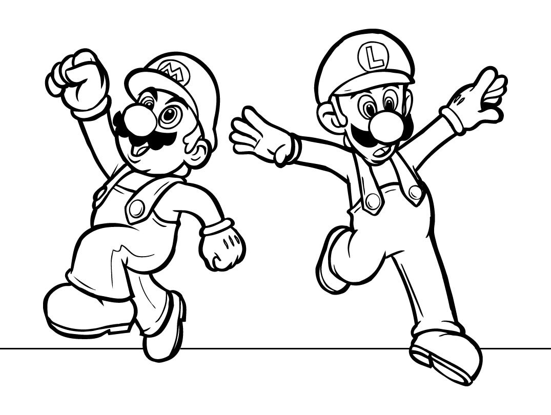 Super Mario Coloring Pages (10)
