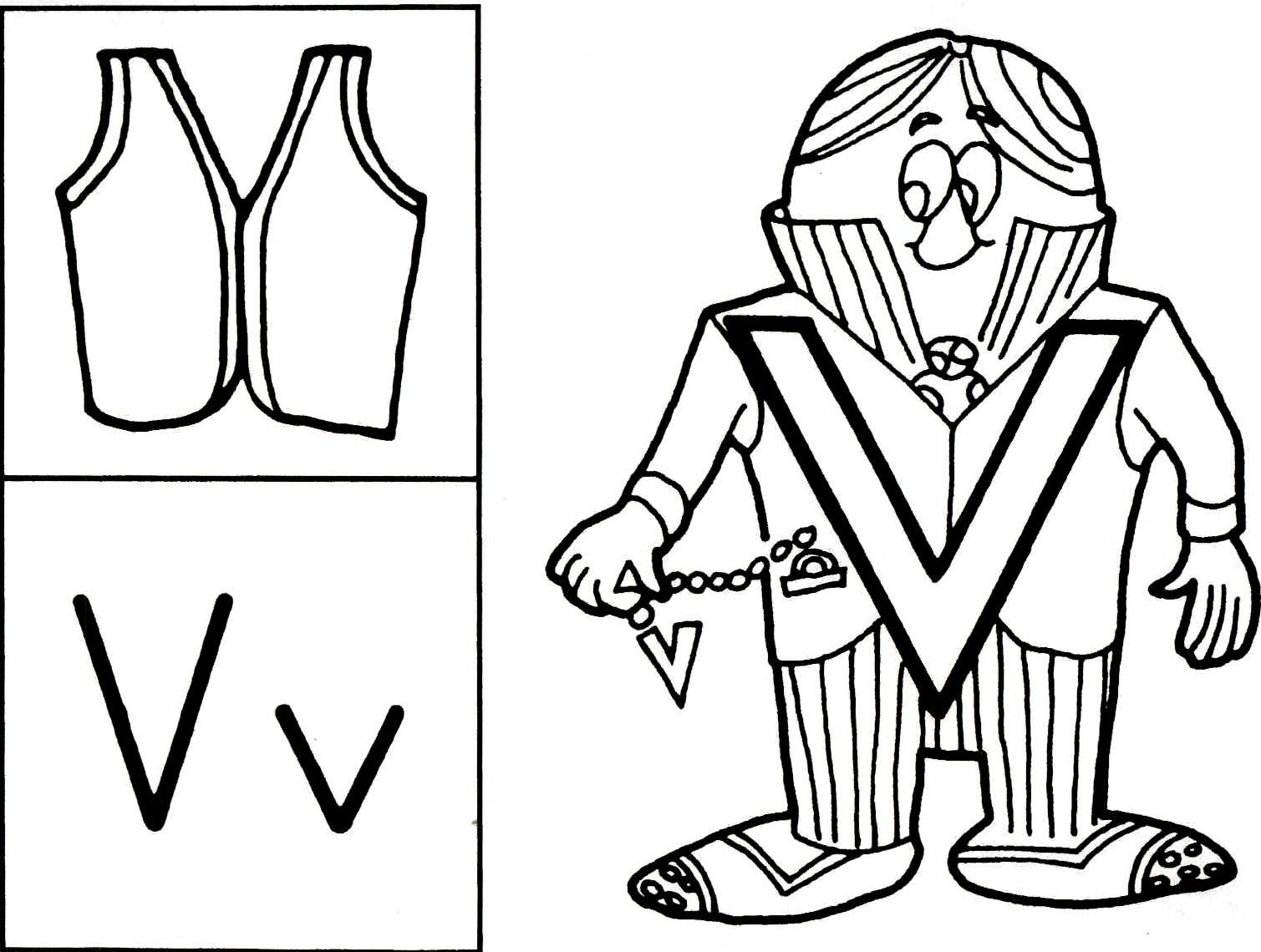 The Letter People Coloring Pages 28813,