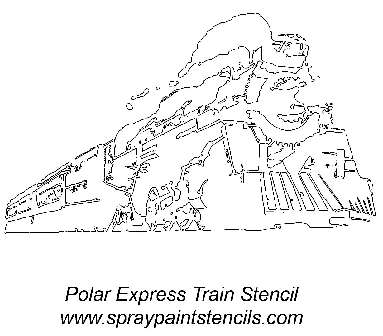 Polar Express Coloring Pages Best For Kids