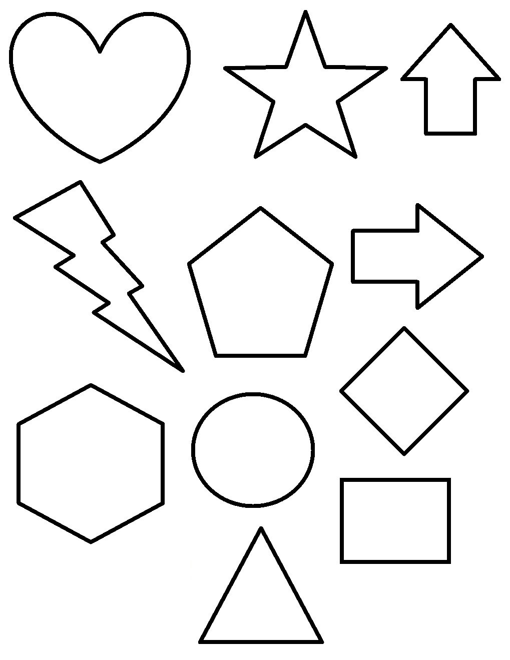 To Print Shapes Coloring Pages 24 For Seasonal Colouring Pages