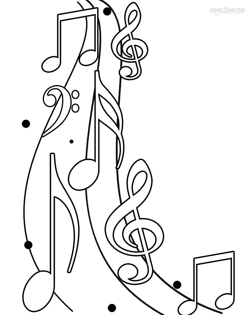 Trend Music Coloring Pages Best Coloring Book  1444
