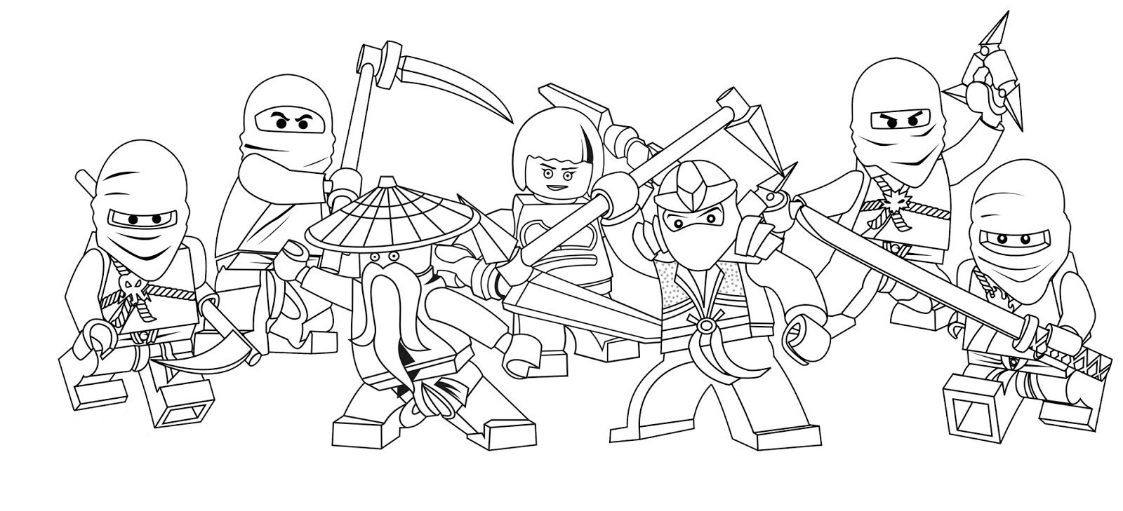 Unique Free Printable Ninjago Coloring Pages 60 For Your Coloring
