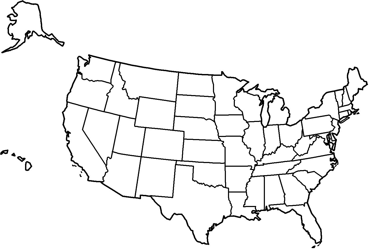 United States Map Photo In State Coloring Pages At Coloring Book