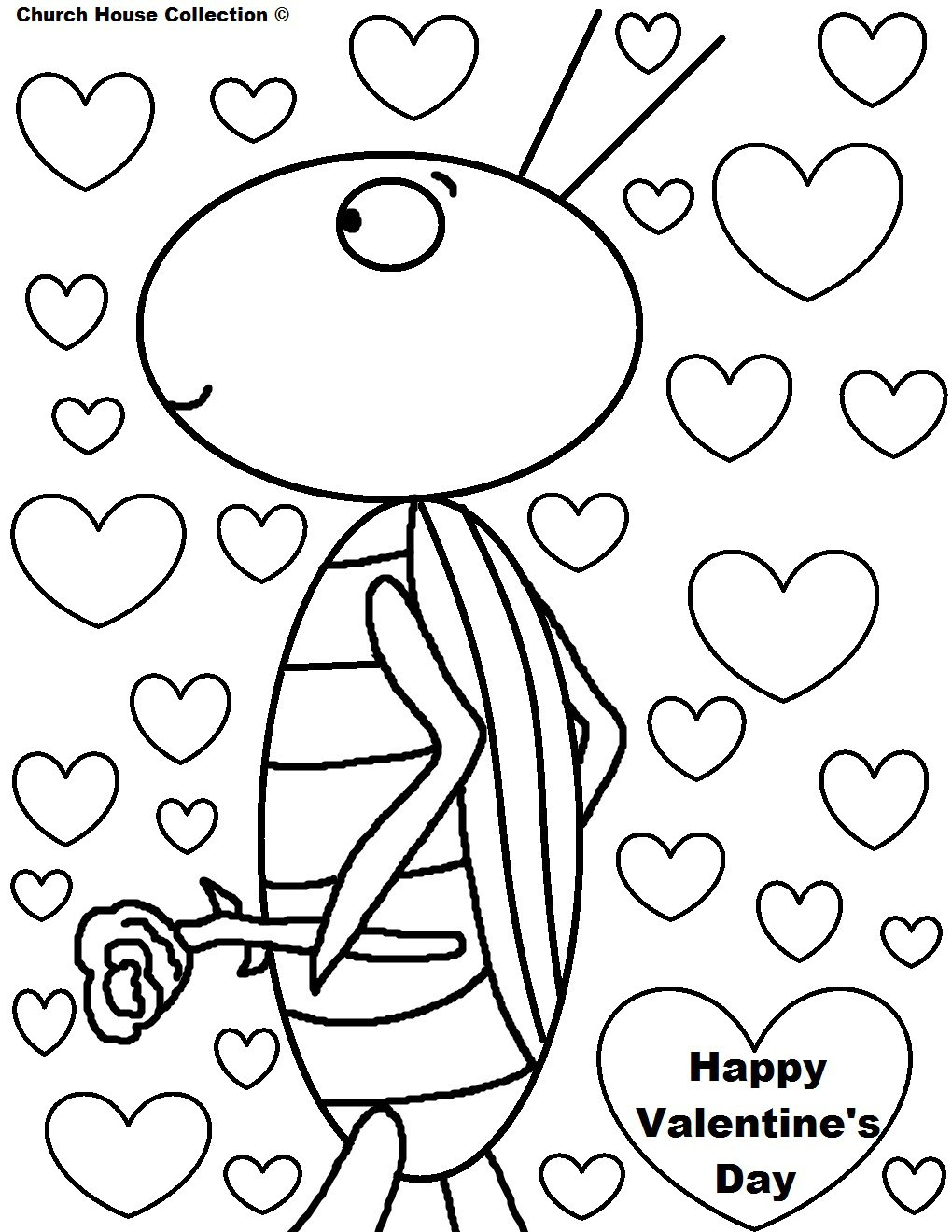 Valentine Coloring Pages And Free
