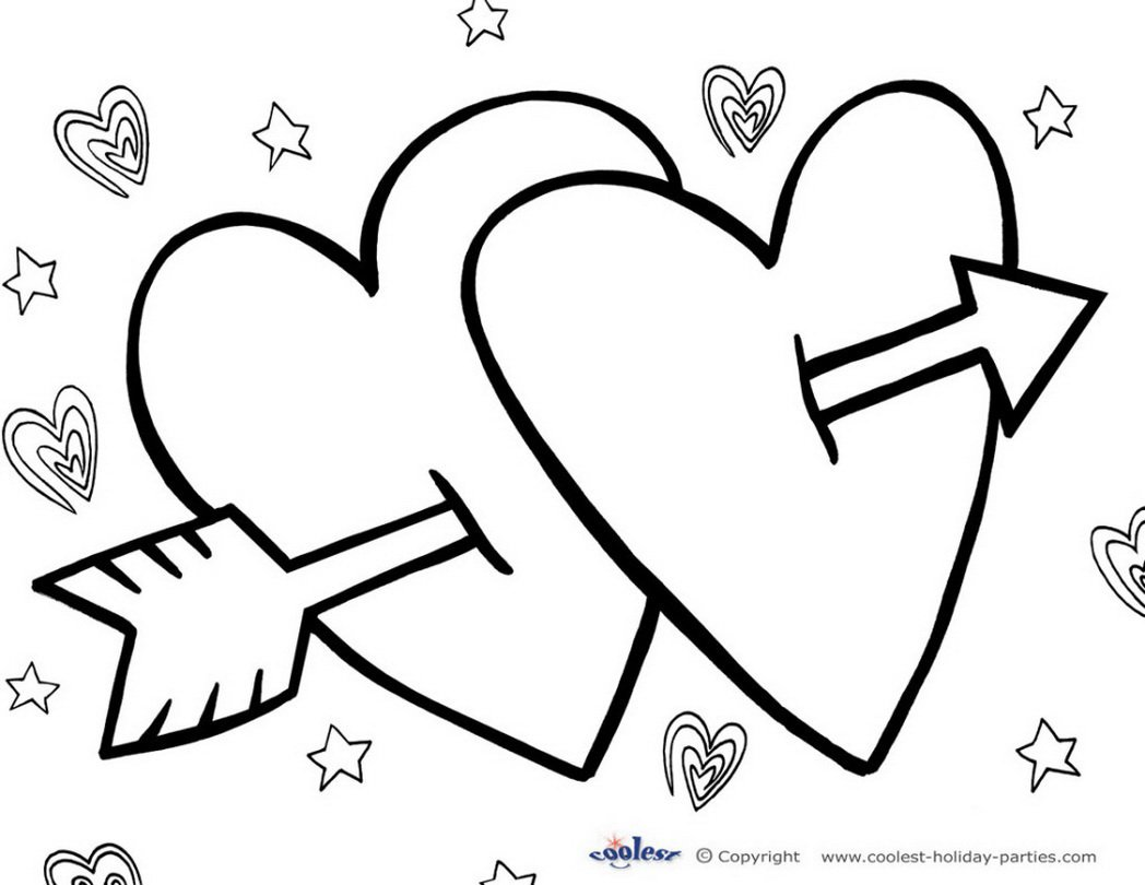Valentines Day Coloring Pages Activities Archives Best Of Free