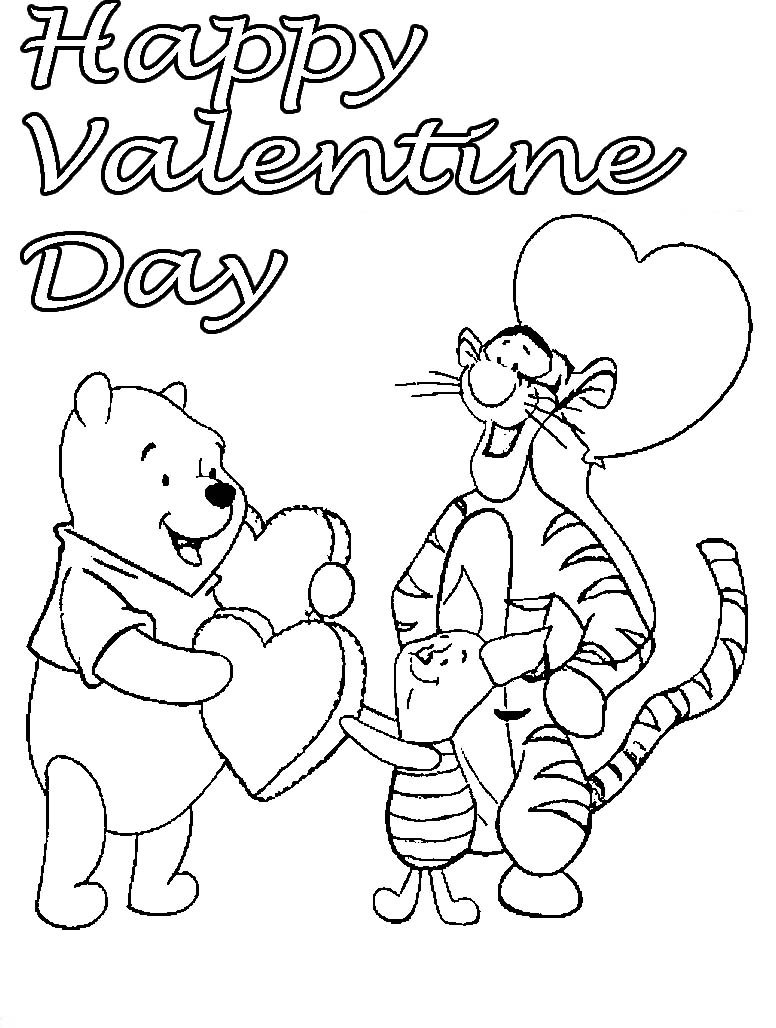 Coloring Pages Valentines Day