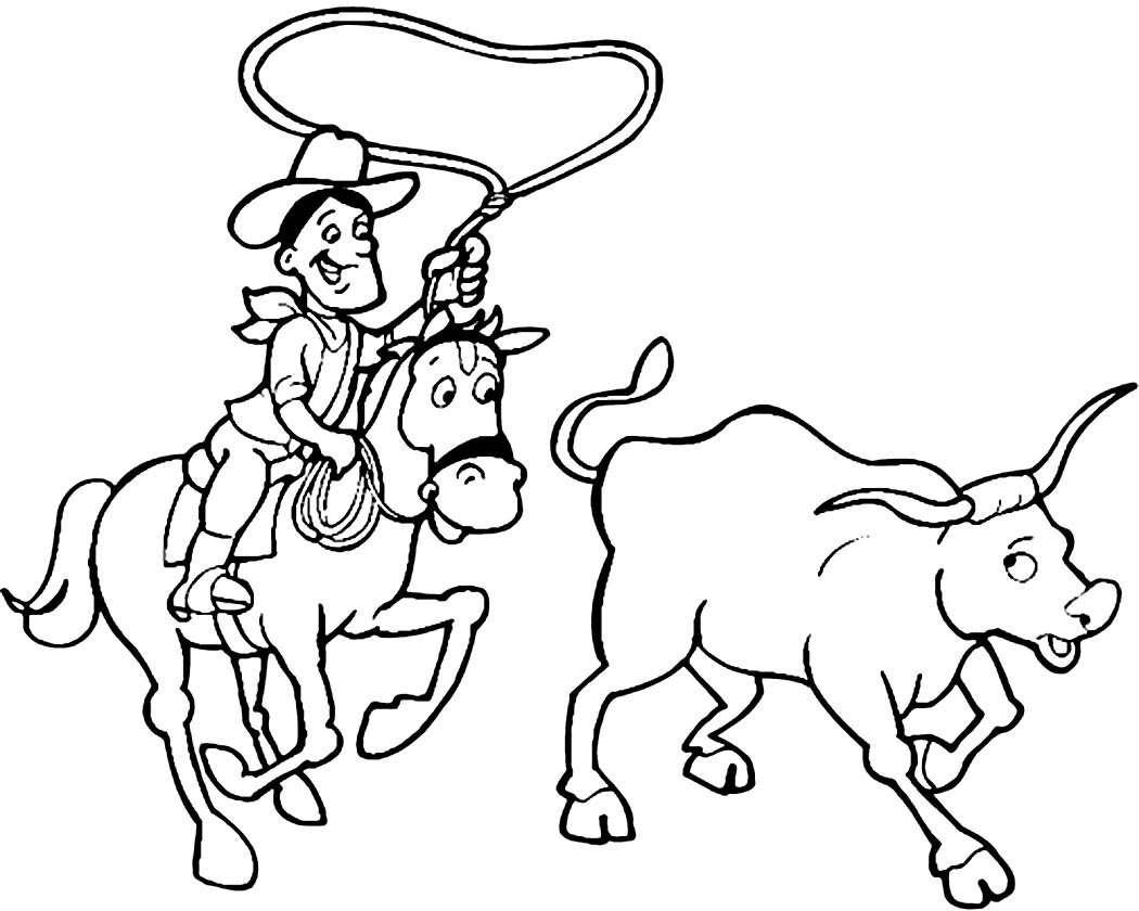 Western Coloring Pages   Best Coloring Pages