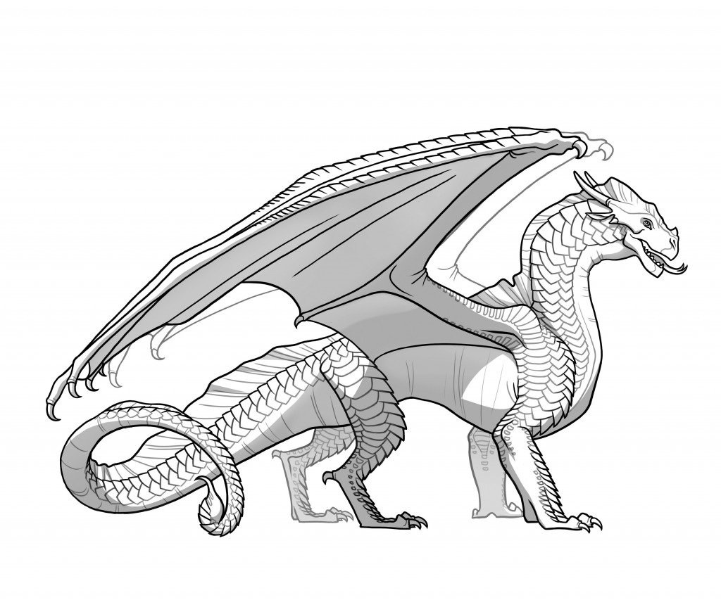 Wings Of Fire Coloring Pages New