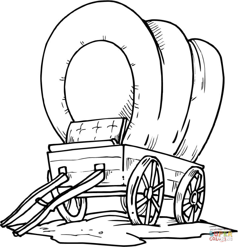 Wild West Coloring Pages