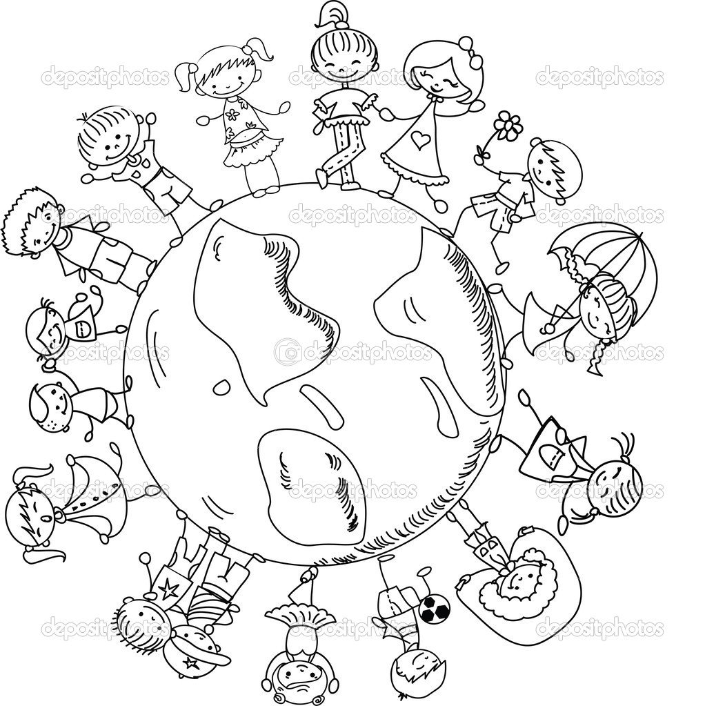 World Thinking Day Mandala Coloring Page 10 And Christmas Around
