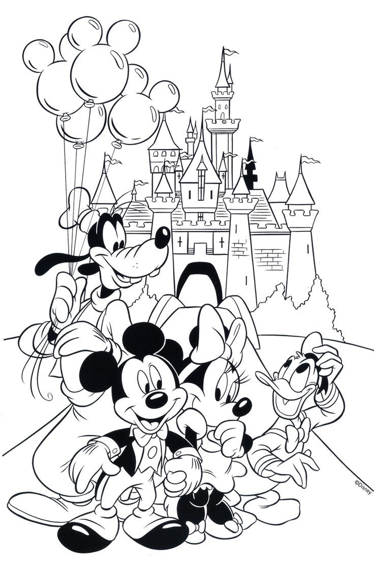 Free Disney Coloring Page!  Printable