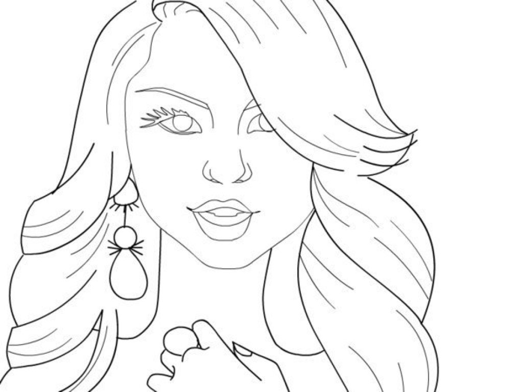 Printable Shake It Up Coloring Page