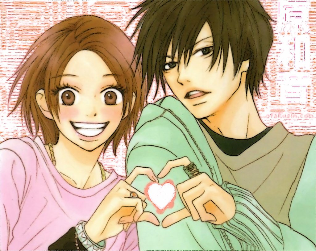 Cute Anime Couple Hd High Quality Wallpaper  2327q Â« Hd Wallpaper