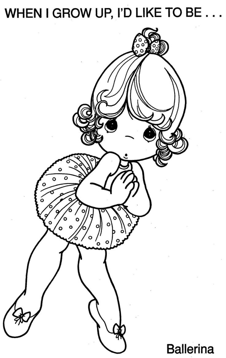 Precious Moments Coloring Pages barbie pictures to print and color ...