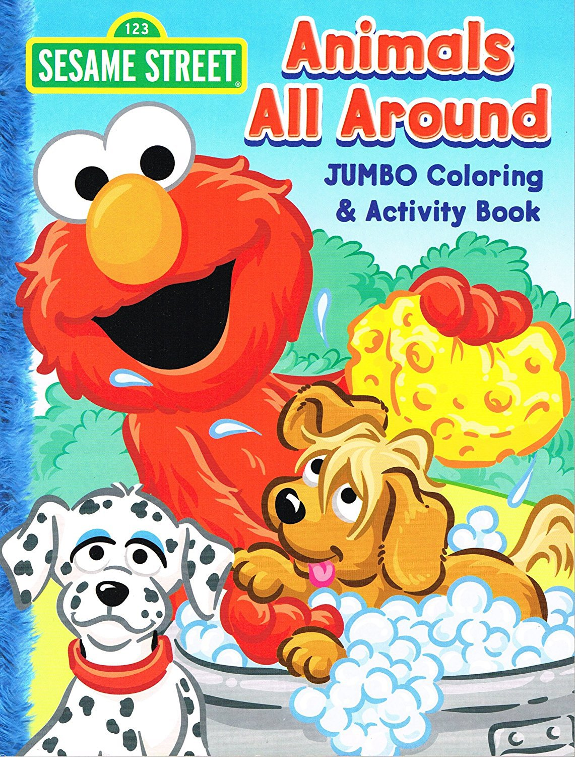 Amazon Com  Sesame Street Coloring & Activity Book (cover Art And