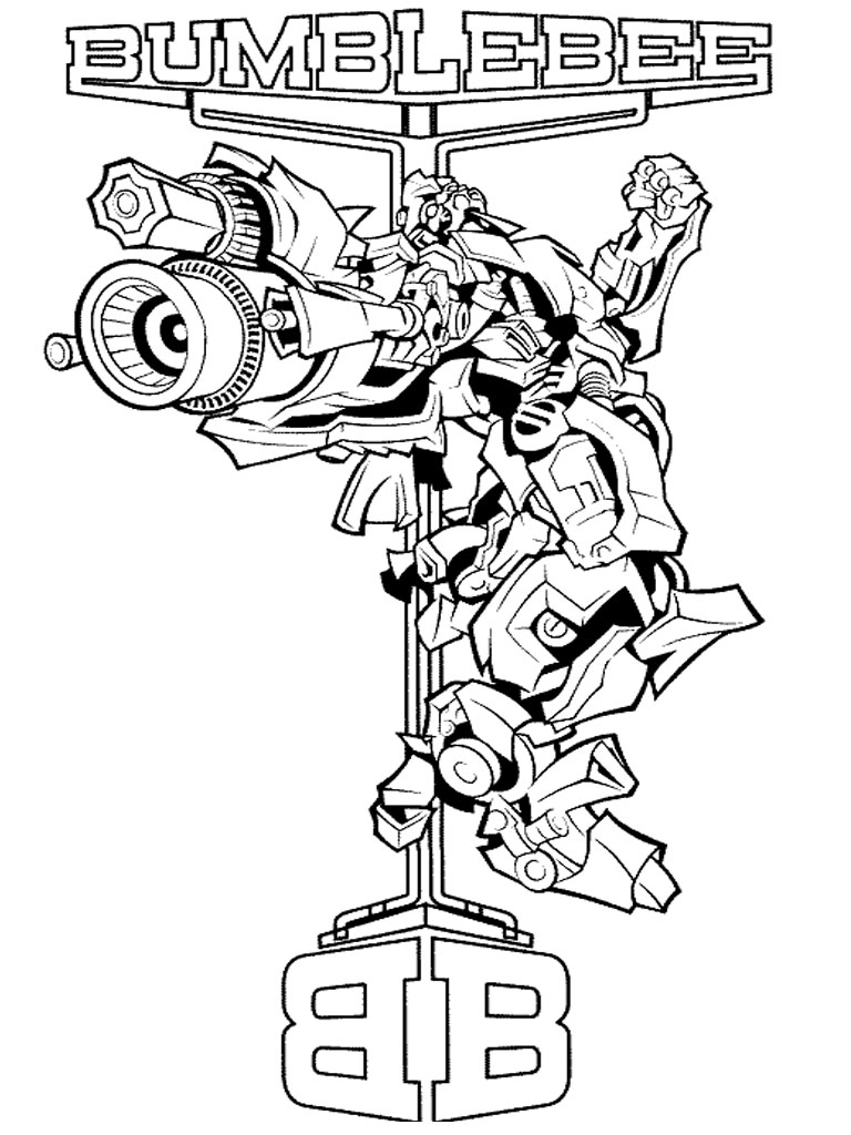 Transformers 4 Coloring Pages For Kids