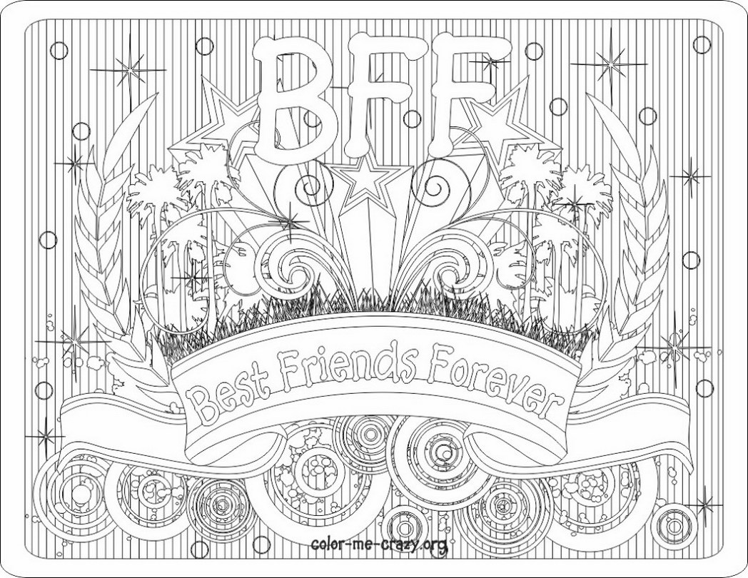 Best Bff Coloring Pages 30 In Download Coloring Pages With Bff