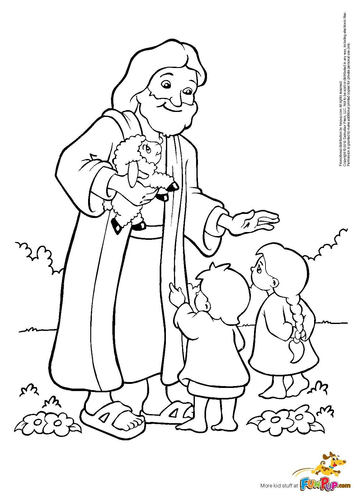 Best Jesus And Children Coloring Page 73 With Additional Coloring