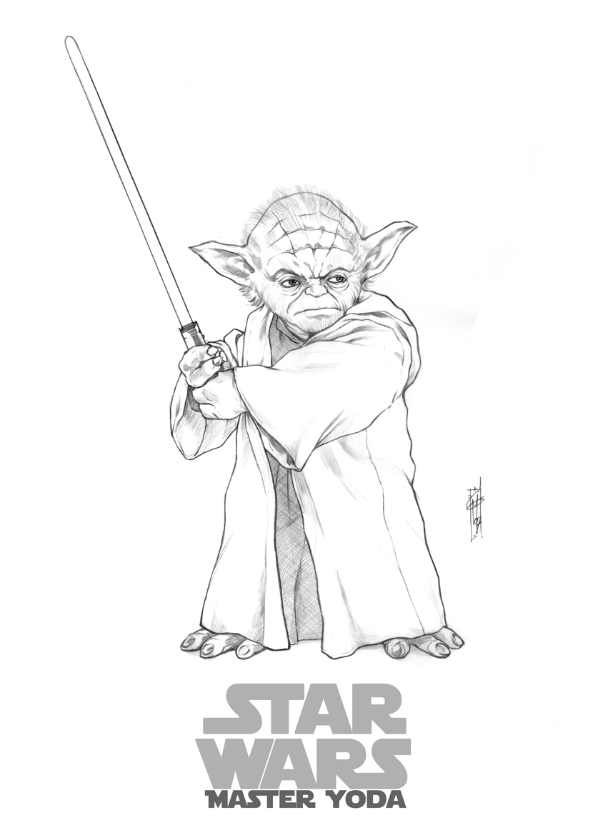 Best Yoda Coloring Pages 83 For Free Colouring Pages With Yoda