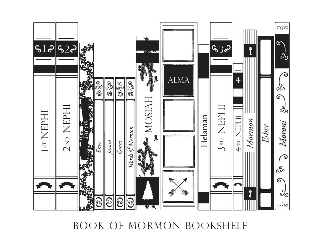 Book Of Mormon Bookshelf