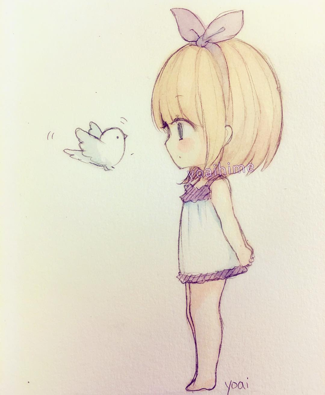 Chibi Drawing In Pencil Anime For   Easy Cute Anime Drawings In
