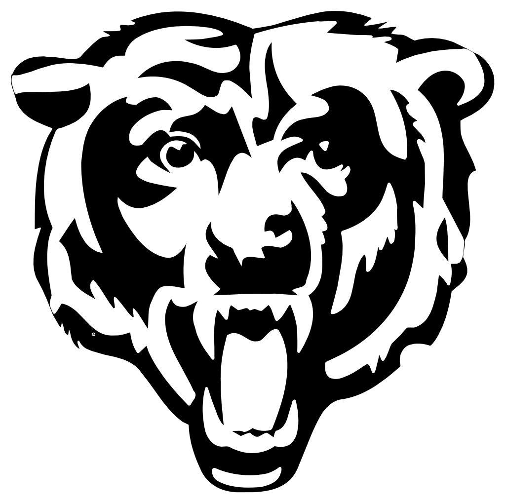 Chicago Bears Logo Coloring Page And Coloring Pages
